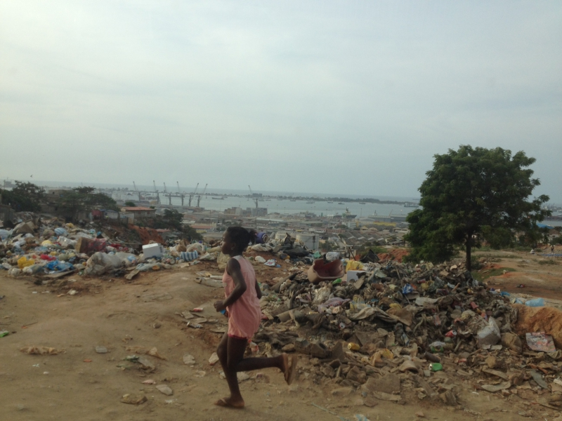 Impressions of Luanda With a View of the Port