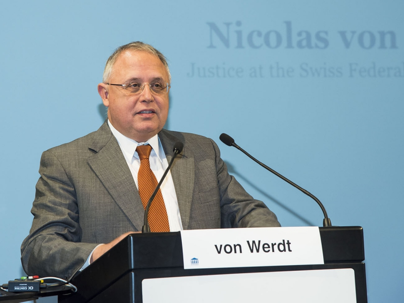 Nicolas von Werdt Elaborated the Differences Between US Case Law and Swiss Continental Law