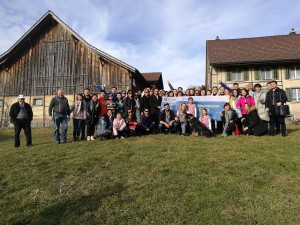 Group picture at a farm in Wetzikon