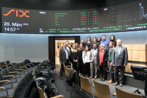 Visit to the SIX Stock Exchange